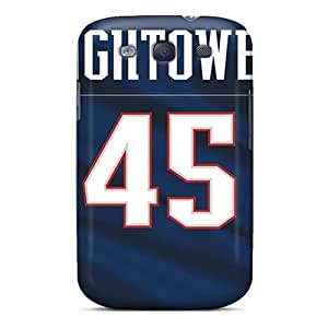 Fashionable Style Cases Covers Skin For Galaxy S3- New England Patriots Black Friday
