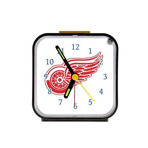 G-Store NHL Detroit Red Wings Hockey Alarm Clock as a Nice Gift
