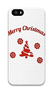 iPhone 5 5S Case Simple Christmas665 3D Custom iPhone 5 5S Case Cover