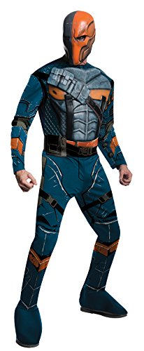 UHC Men's Batman Arkham Origins Slade Wilson Deathstroke Halloween Costume, L ()