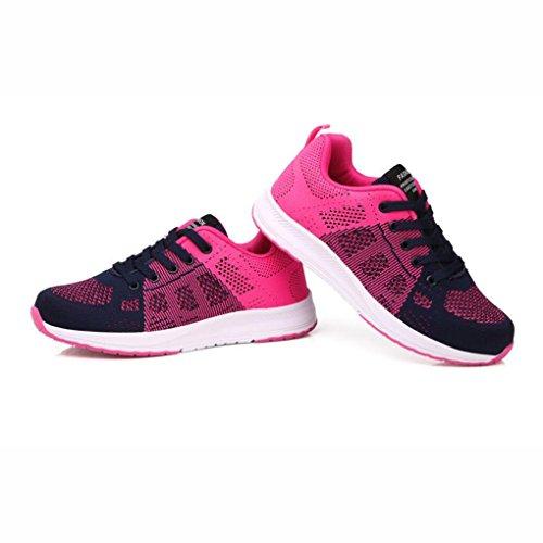 de Nuevas Re Tamaño de Ligeros Las de Zapatos Aire 40 Las Verano Zapatillas al Mujeres Estudiantes Color Huecas de Libre Casuales Zapatos Do Deporte Zapatos Mujeres de los Las 4xq6wax