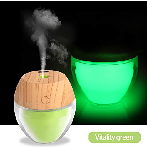 - Euone Clearance Sales,Creative Home Color Rotating Air Humidifier LED Nightlight With Auto Shut-Off