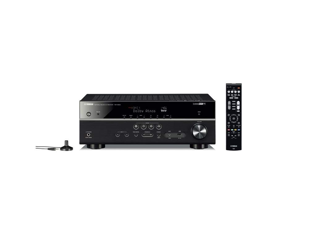 Yamaha TSR-5830 7.2 Channel 4K Atmos Network AV Receiver (Renewed) by Yamaha