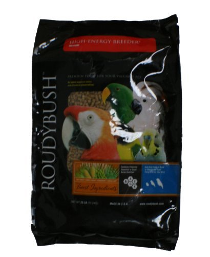 Roudybush High Energy Breeder Bird Food, Medium, 25-Pound by RoudyBush by Roudybush, Inc.