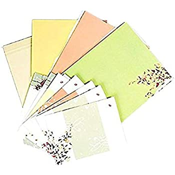 32 cute letter writing paper letter sets with 8 envelopewriting stationery paperassorted color