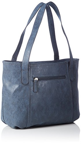 GERRY WEBER Open Mind - Shopper Mujer Azul - Blau (dark blue 402)