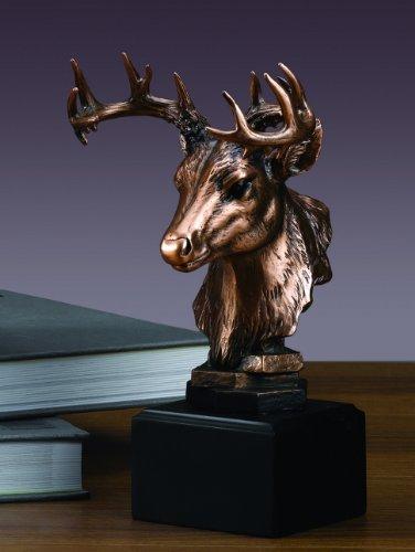 Whitetail Deer Head Statue ()