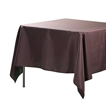 Awesome Richland Square 70u0026quot; X 70u0026quot; Tablecloth Brown