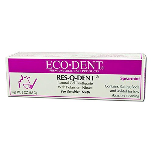 Res-q-dent Toothpaste, Spearmint, 3 Ounce (Pack of 3)