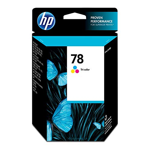 HP 78 Tri-color Ink Cartridge (C6578DN) for HP Deskjet 3820 920 9300 930 932 940 955 960 980 HP Officejet g55 g85 k80 v40 HP PSC 750 950 ()