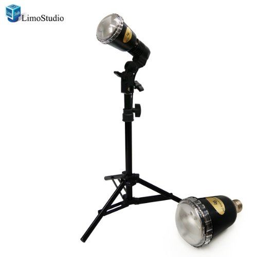 LimoStudio 45W Backlight Strobe Flash Photography Studio Flash Lighting Light Kit, AGG1092 Slave Strobe Flash