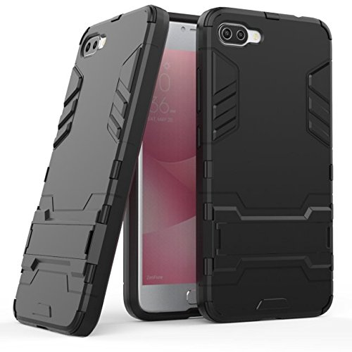 Shockproof Armor TPU/PC Case for Asus Zenfone Max (Black) - 6