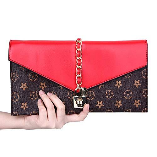 Handbag Lock with Oversized Arrival Evening New Wristlet Onorner Clutch Women Bag Evening Flower Apricot Designer cSOq04RwH
