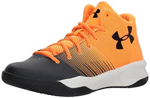 uk availability 9dbd2 9e138 Galleon - Under Armour Boys  Grade School Surge Basketball Shoe, Glow  Orange (800) Stealth Gray, 7