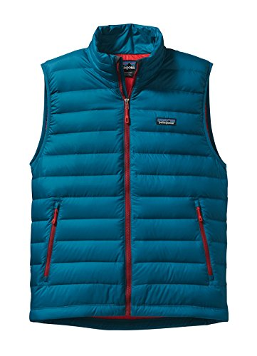 Patagonia Down Sweater Jacket (Patagonia Mens M's Down Sweater Vest, Underwater Blue, XXL)