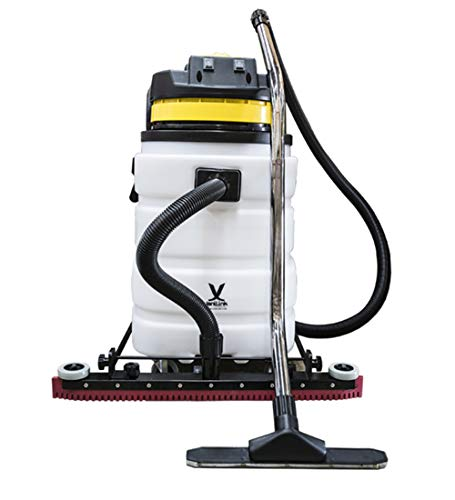 janiLink Wet Dry Vacuum 24 Gal with Powerful 2 Motors