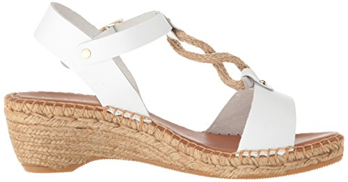 André Assous Womens Camila Espadrille Wedge Sandal White rsfTL0rCa