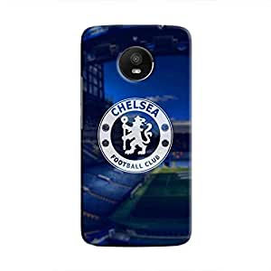 Cover It Up - Chelsea Watermark Moto E4 Plus Hard Case