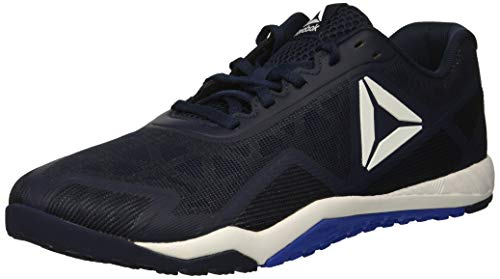 - Reebok Men's ROS Workout TR 2.0 Sneaker Collegiate Navy/White/Acid Blue 14 M US