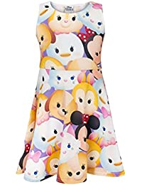 Tsum Tsum Characters Girls Skater Dress