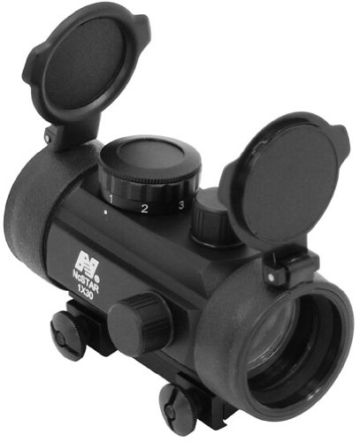 """NcStar 1X30 B-Style Red Dot Sight / 3/8"""" Dovetail Base"""