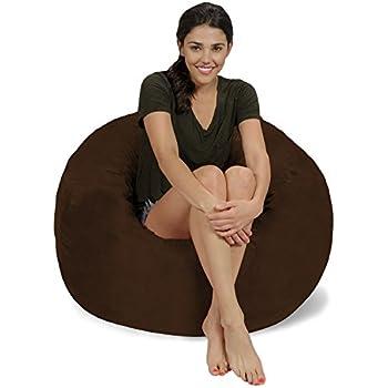 Amazon.com: Sillón tipo puf gigante de Chill Sack ...