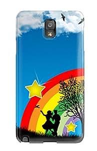 New Style AndrewTeresaCorbitt Vector Art Premium Tpu Cover Case For Galaxy Note 3