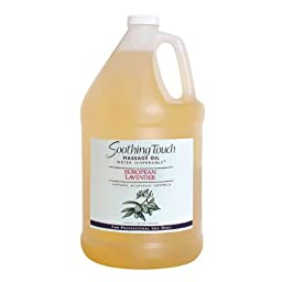 Soothing Touch W67358G European Lavender Oil, 1 Gallon