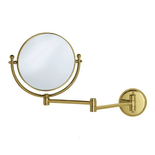 "Gatco Magnifying 8"" Swinging Wall Mirror in Polished, used for sale  Delivered anywhere in USA"
