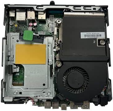HP 600 G2 Micro Computer Mini Tower Tiny PC (Intel Quad Core i3-6100T, 16GB Ram, 128GB SSD, WIFI, VGA, USB 3.0) Win 10 Pro (Renewed)