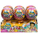 Pikmi Pops NEW SERIES 3 Surprise Packs in 6pc Counter Display Medium Scented Plush Surprise