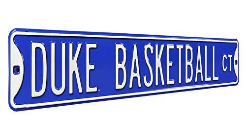 NCAA Duke Basketball CT Street Signstreet Sign, Team Color, 36