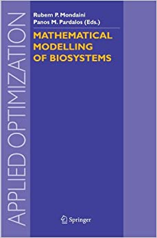 Mathematical Modelling of Biosystems (Applied Optimization)