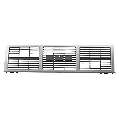 (Silver Grille Assembly for GMC Jimmy, Pickup, Suburban GM1200401)