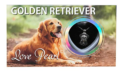- Love Pearl Creations Dogs Wish Kit with Pendant Necklace (Golden Retriever)