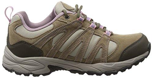 Hi-Tec Women's Alto II Waterproof Low Rise Hiking Shoes Beige (Light Taupe/Grey/Horizon) ZQHF9JNJw