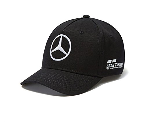 Mercedes AMG F1 Team Driver Puma Hamilton Baseball Casquette Noir Officiel 2018