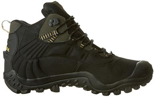 Merrell Chameleon Thermo 6 Waterproof, Men's Trekking and Hiking Boots Black (Black/Charcoal)