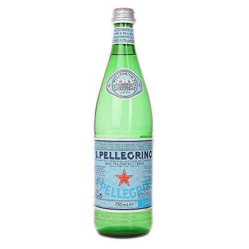 San Pellegrino Natural Mineral Water - Sparkling 750ml (Pack of 12) by San Pellegrino