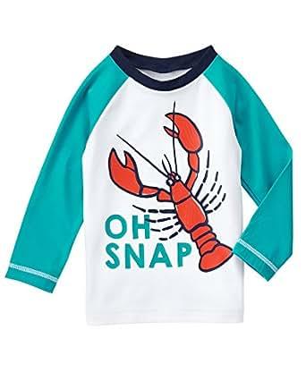 5c610f0f82 Amazon.com: Gymboree Baby Toddler Boys' Wht Oh Snap Rshgrd: Clothing