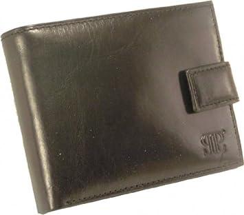 JPL Maroquinerie - Portefeuille et Porte-monnaie Homme en cuir - Coloris  noir 1ad51101347