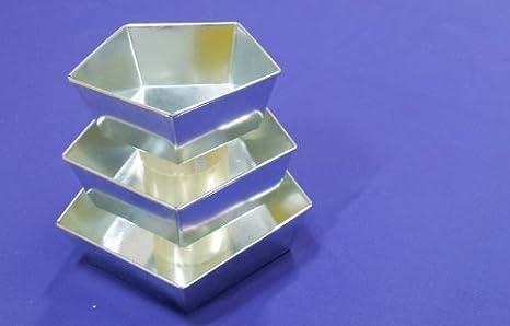 Pentágono Cojín | Maceta | latas de molde para horno y sartenes de pasteles: Amazon.es: Hogar