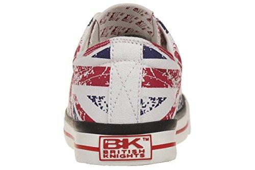 British KnightsMaster Lo - botas de caño bajo Hombre Rot