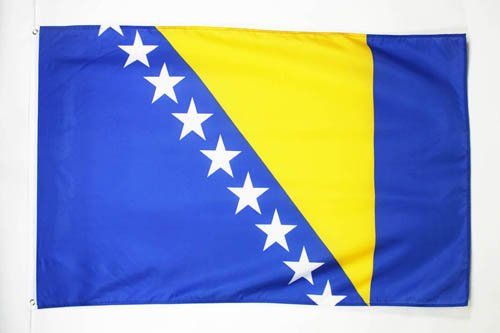 AZ FLAG Bosnia Herzegovina Flag 2' x 3' - Bosnian Herzegovinian Flags 60 x 90 cm - Banner 2x3 ft ()