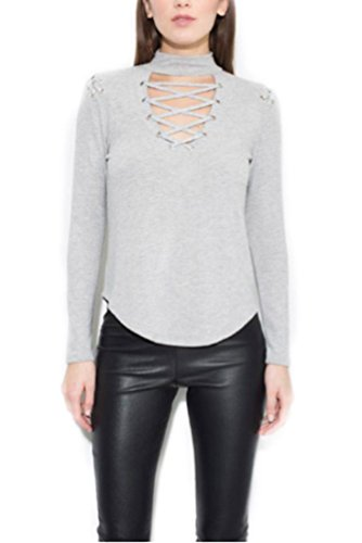 Generation Love Becca Lace Up - L Grey - M by Generation Love (Image #1)