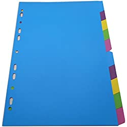 Paper Index Divider Category Page, Great Personal Planner A4
