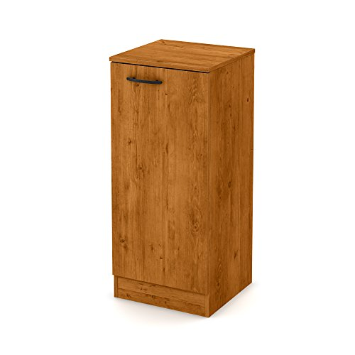 South Shore Axess Narrow Storage Cabinet, Country Pine (1 Door Cabinet)