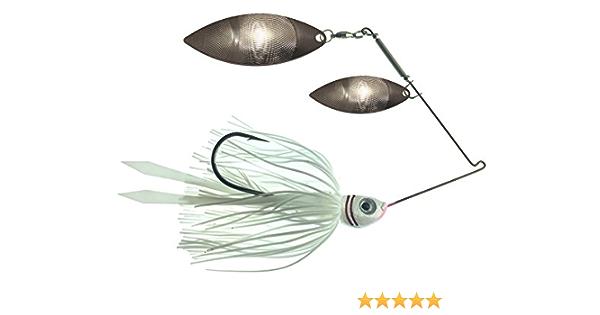 50pcs Willow Spinner Blades Smooth Finish DIY Spinner Bait Fishing Lures J/_SE