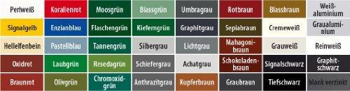 100 Trapezblechschrauben Color-Head 48x60 Kupferbraun 8004