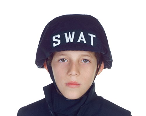 Children's Swat Helmet Costume - Swat Officer With Helmet Child Costume